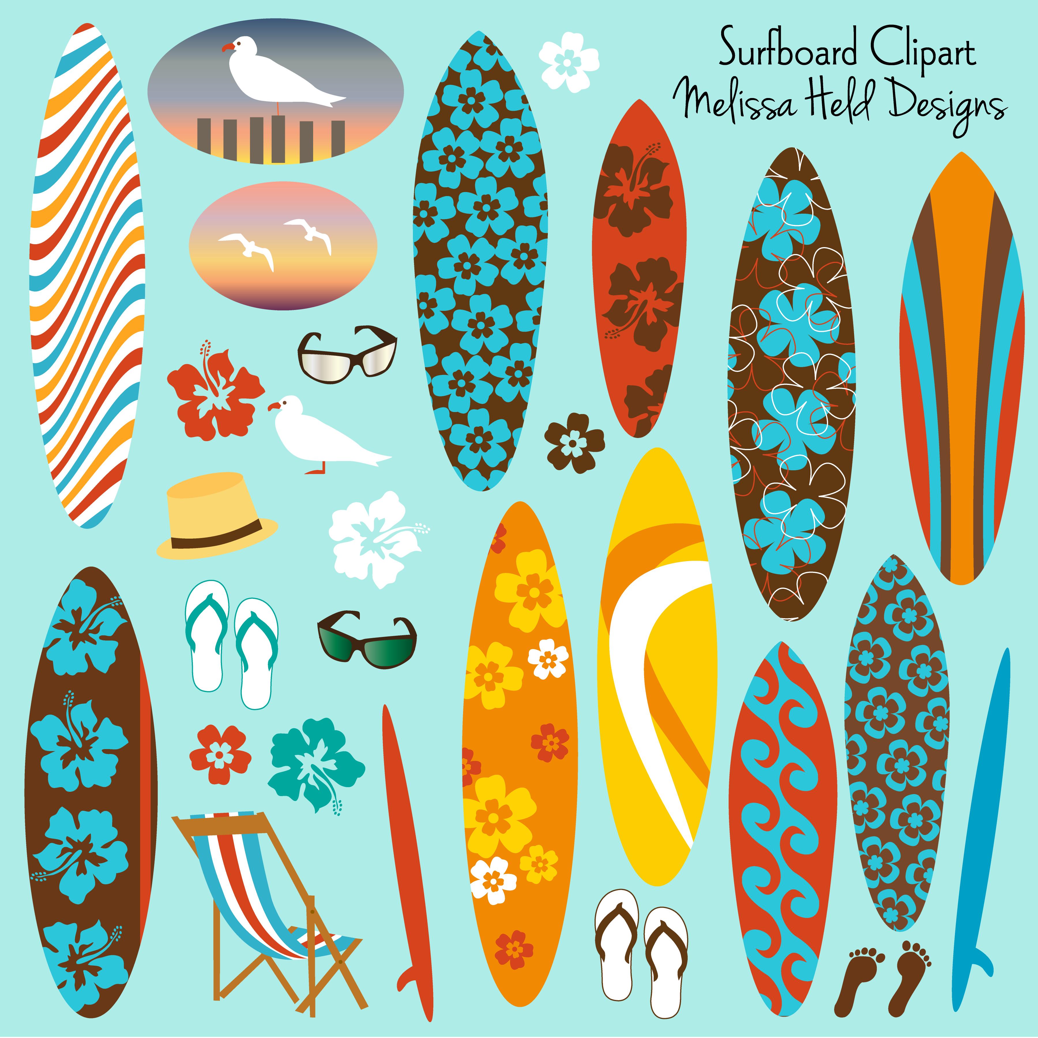 Templates  clipart surfboard Clipart Surfboard clipartpreview 01 Mygrafico