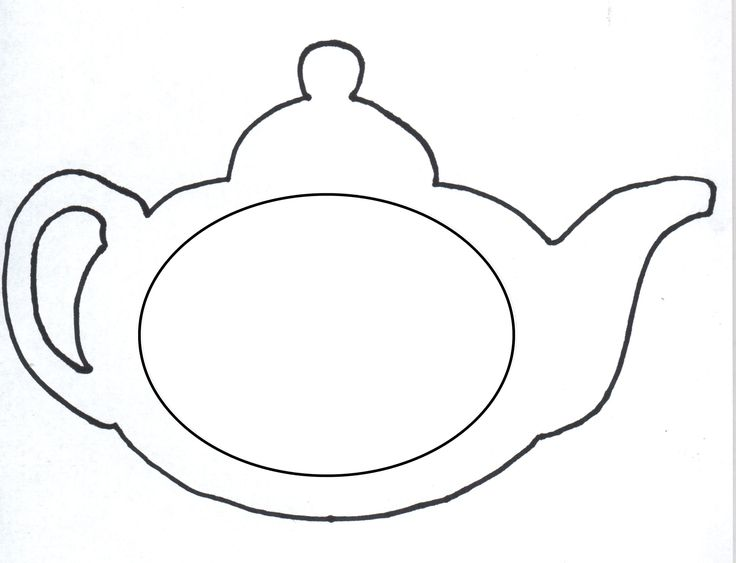 Templates  clipart teapot 23 best 34 free template