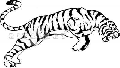 Templates  clipart tiger #9