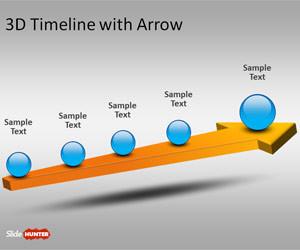Arrow clipart timeline #1