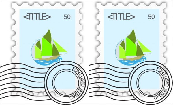 Templates  clipart vintage postage stamp Download 33+ Format Free Template