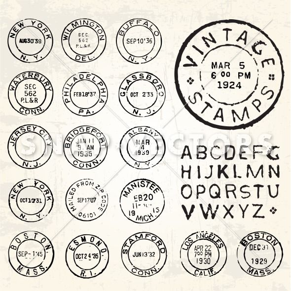 Templates  clipart vintage postage stamp Cancellations Search Postal 197 printable