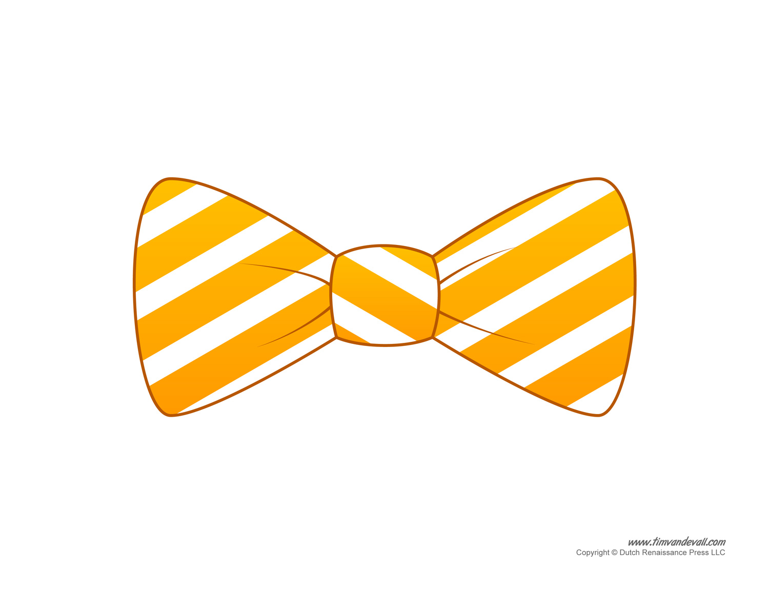 Yellow clipart bowtie Templates Bow collection Bow pictures