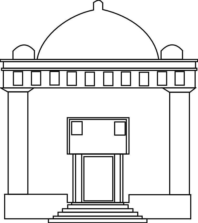 Synagogue clipart mandir Panda Clipart Free Images Temple