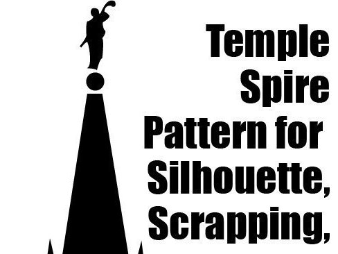 Temple clipart angel moroni Temple Spire JPG with Temple