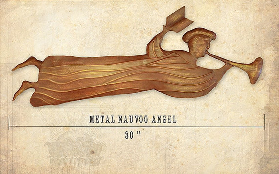Temple clipart angel moroni METAL Angel from Metal 1840