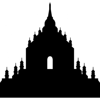 Temple clipart borobudur Free Myanmar Indonesia Borobudur Download