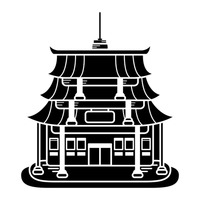 Temple clipart chinese temple Chinese temple temple collection clipart