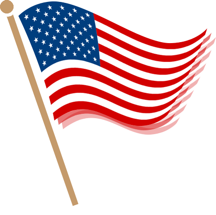 American Flag clipart war independence Clipart Clip Clipart Flag Free