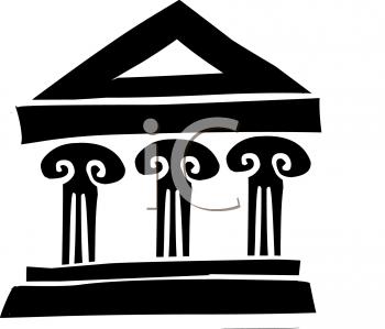 Temple clipart grecian 0 greek art art Fans
