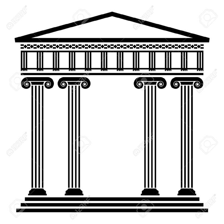 Temple clipart grecian Architecture on Pinterest Greek