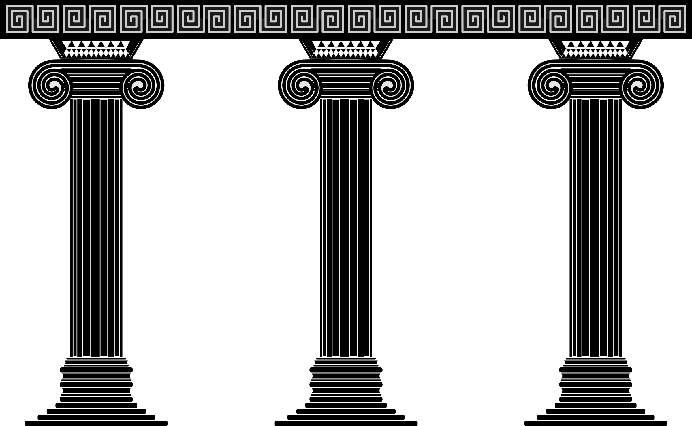 Architecture clipart greek column Greek Greek  Temple Clipart