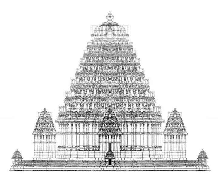 Structure clipart mandir Indian 102 Pinterest Architecture hindu