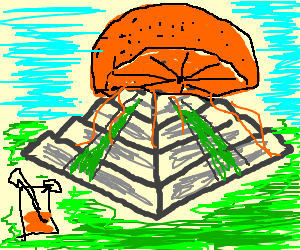 Temple clipart incan Orange being An as juicer