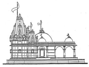 Temple clipart jain Elevation :: Jainism Online HereNow4U
