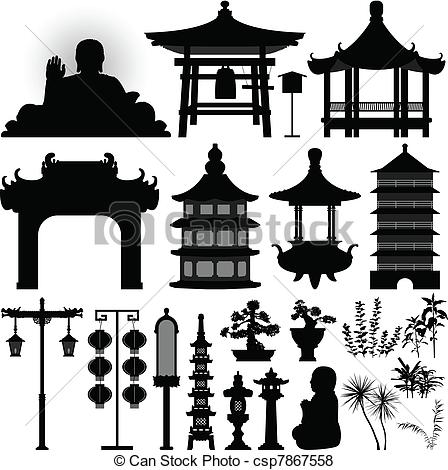 Asians clipart buddhist temple Chinese 2 collection clipart pagoda