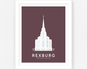 Temple clipart rexburg Rexburg temple LDS Temple lds