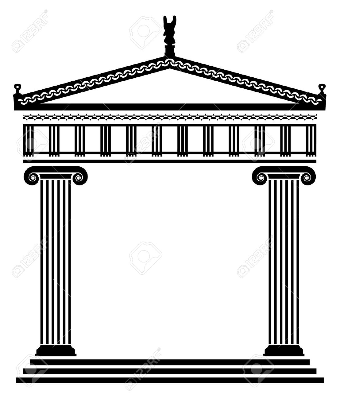 Architecture clipart greek column Art Greek Greek Art architecture