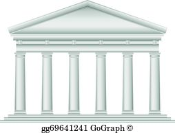 Temple clipart roman temple Tuscan  · EPS temple