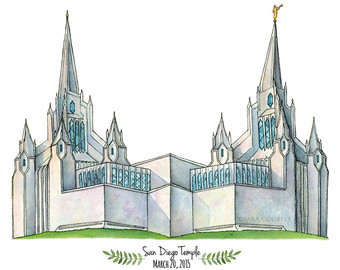San Diego clipart Clip Free Temple Cliparts Painting