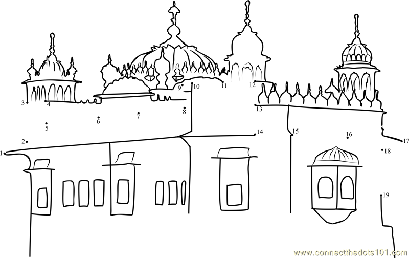 Temple clipart sikh Dots The Connect printable Temple