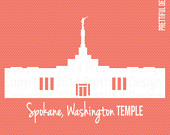 Temple clipart snowflake Temple png Art Vector Mormon