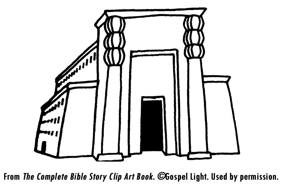 Temple clipart solomons Built belly king temple 1