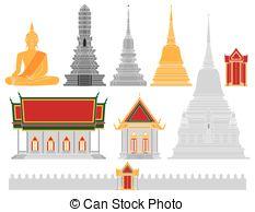 Thailand clipart thailand temple #11