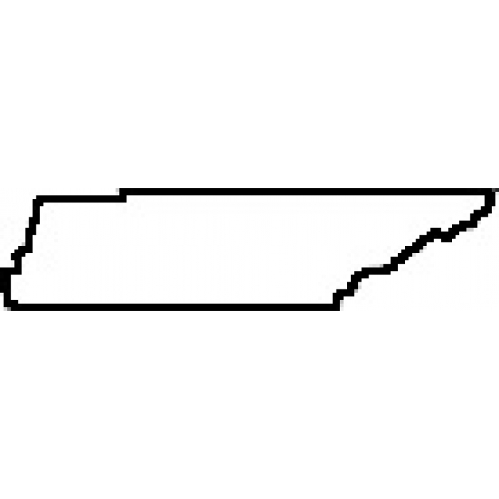 Tennessee clipart ClipArt of of Map State