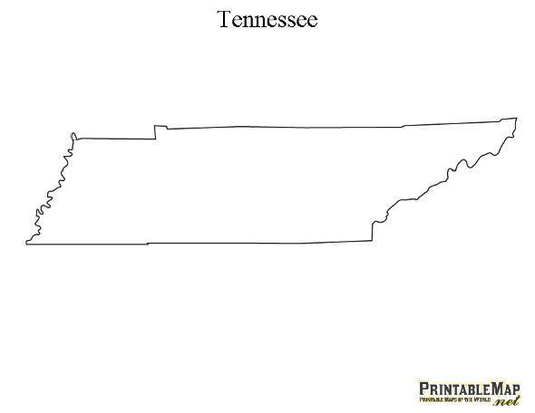 Tennessee clipart Tennessee Shape Free on Best Tennessee Printable