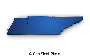 Tennessee clipart Tennessee Shape Illustrations Tennessee 3d Tennessee free