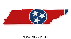 Tennessee clipart Tennessee Shape Tennessee map Shape 3d royalty