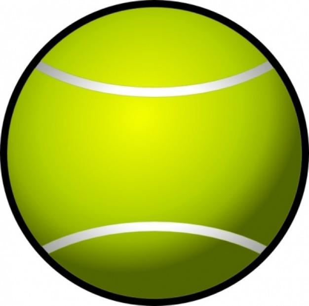 Tennis Ball clipart Illustration image  clipart Tennis