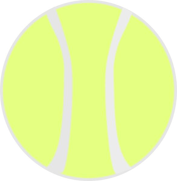 Ball clipart yellow  vector Yellow Flat Yellow