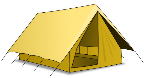 Tent clipart pitched Free Clipartix Tent clipart use