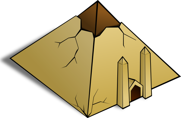 Ancient clipart great pyramid #10