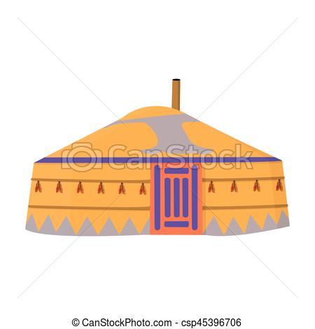 Tent clipart ancient  Vector ancient single tent