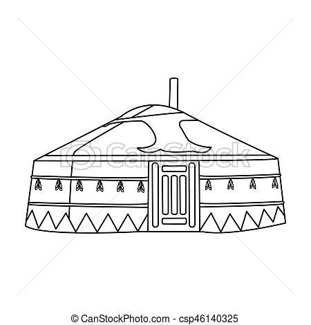 Tent clipart ancient Mongolian Housing Mongolia Housing Mongols