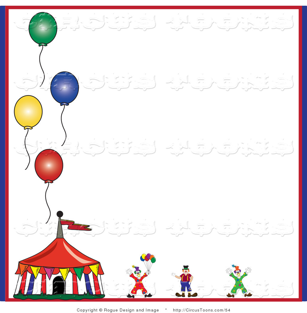 Carneval clipart background On Clown of White a