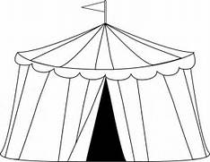 Tent clipart black and white White Clipart Black Black Tent