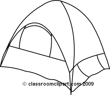 Tent clipart black and white Clipart 2 white Tent Tent