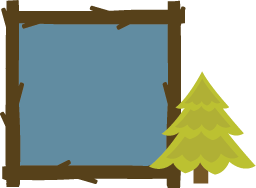 Camping clipart woods File Frame tree camping cardmaking