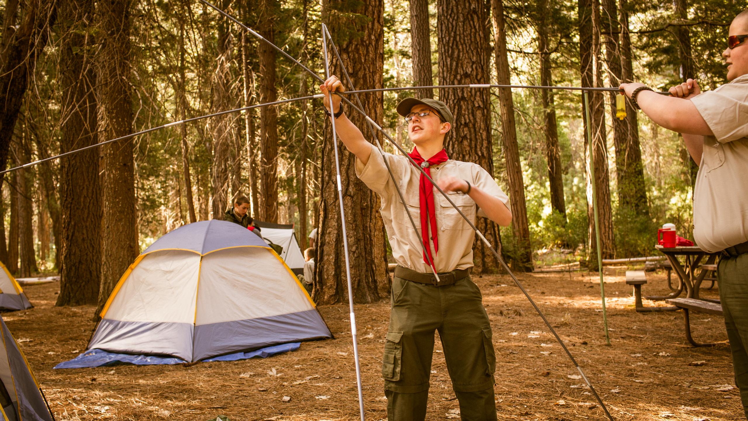 Tent clipart building a Camping Clip A A Clip