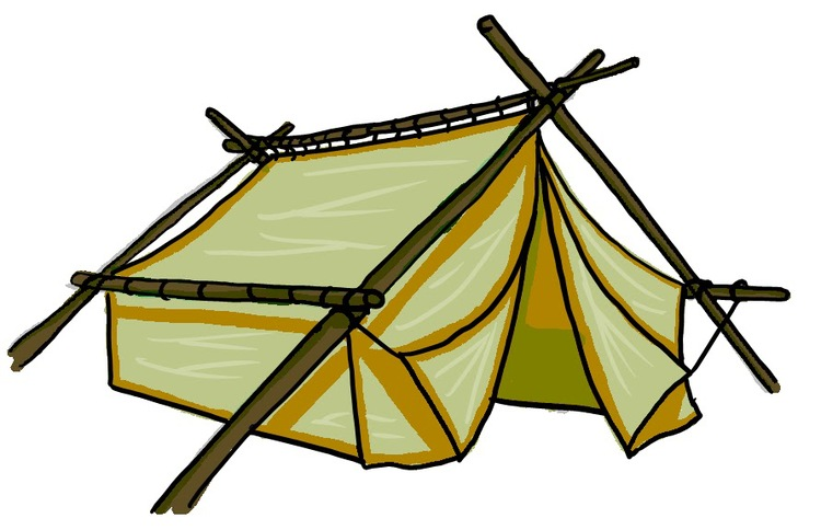 Tent clipart building a From To Earthly From Building