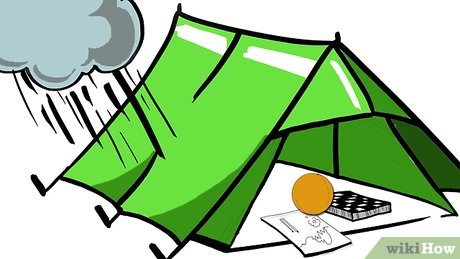 Tent clipart building a 12 Camp How in Pictures)