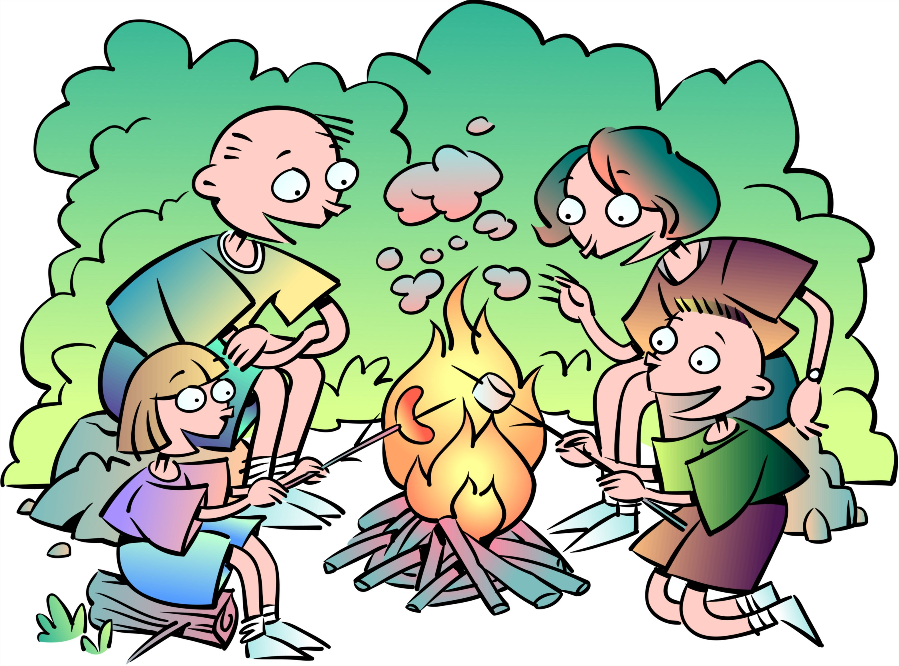 Hiking clipart kid campfire Campfire image images 4 clipart