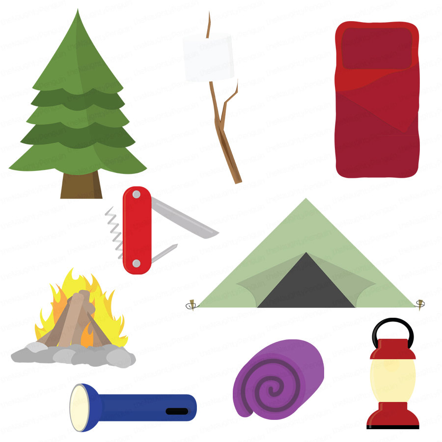 Camper clipart camping gear Panda · Clip · And