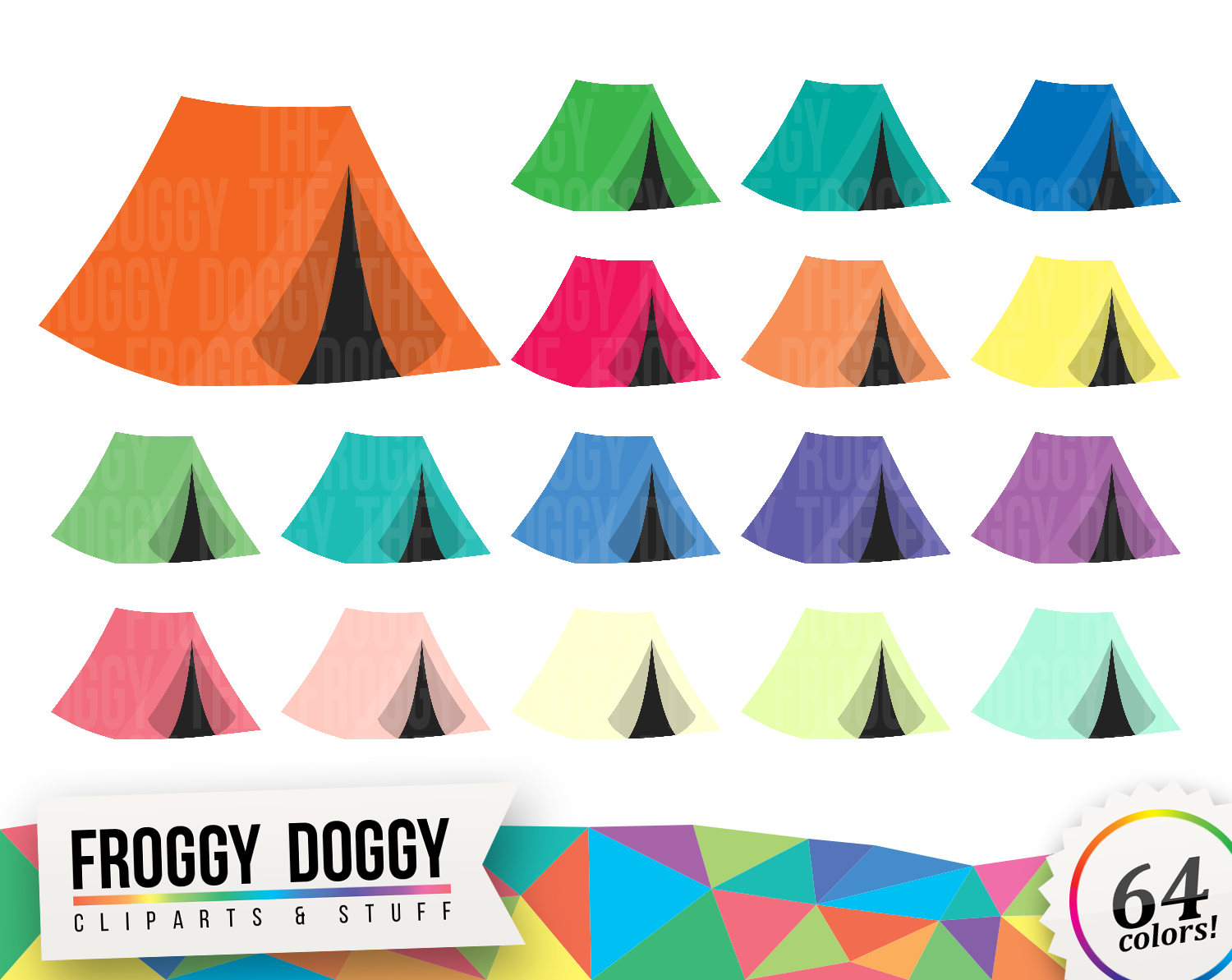 Tent clipart camping trip Is digital a Tent file