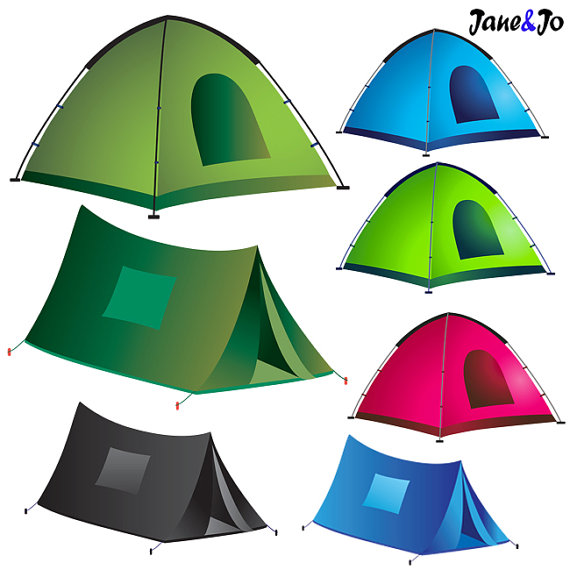 Tent clipart campout Clip digital Camping file Camping