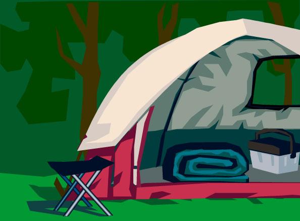 Tent clipart campout Pack campout Cub Scout 867